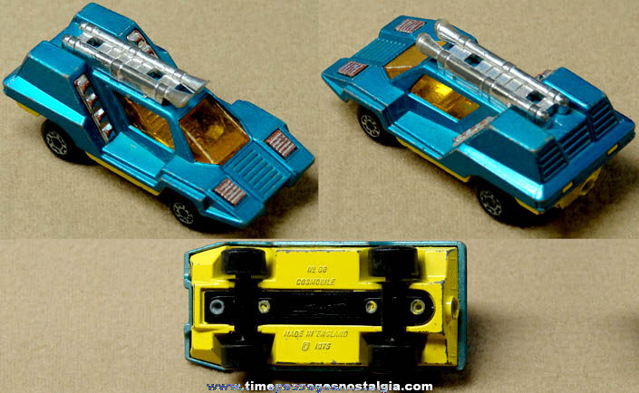 ©1975 Matchbox Superfast Cosmobile Diecast Toy Car