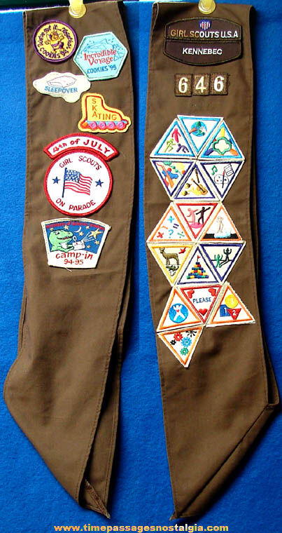 (38) Different Girl Scout Activity Badges or Patches