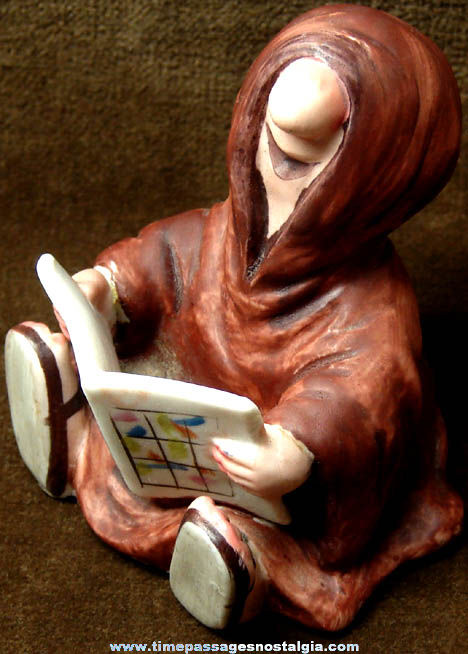 Old Porcelain Monk Comic Strip or Cartoon Character Figurine