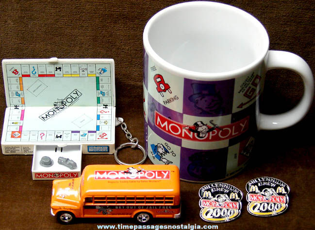 (5) Small Monopoly Game Advertising Items