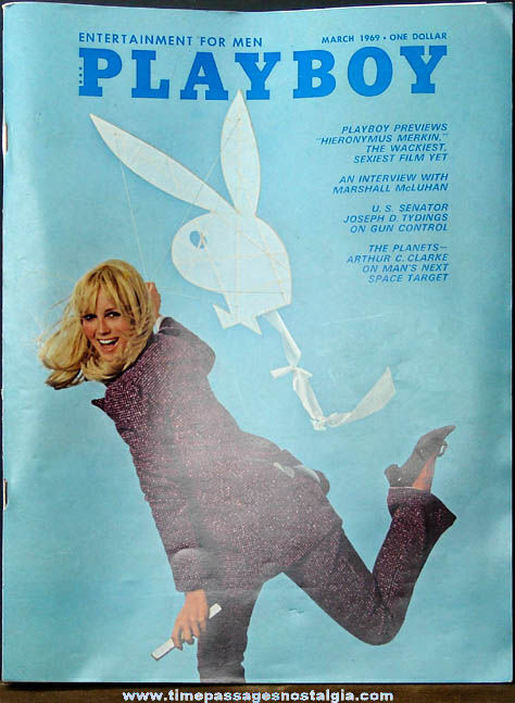 Mens Playboy Magazine March 1969 Issue
