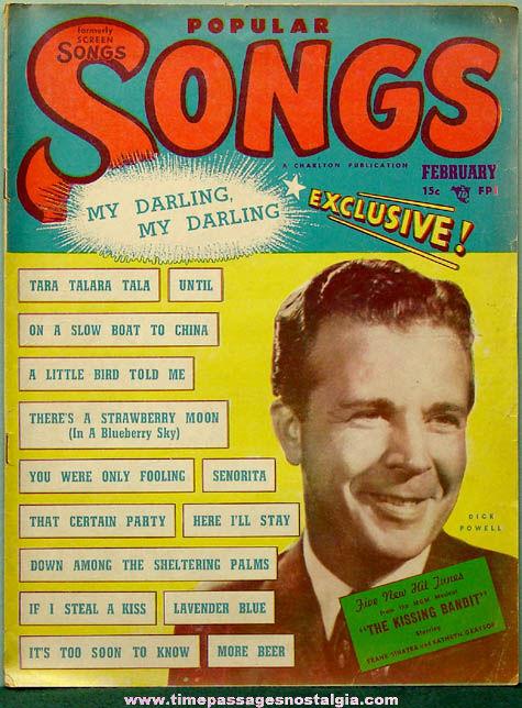 February 1949 Popular Songs Magazine
