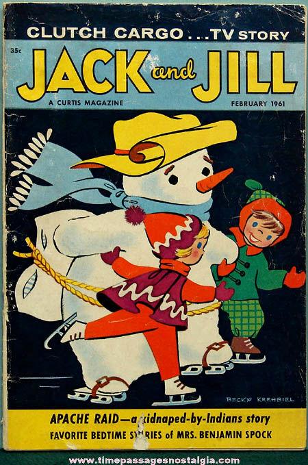 February 1961 Jack &: Jill Children's Magazine
