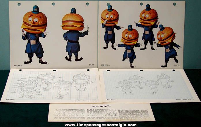 ©1975 McDonald's McDonaldland Character Artwork Specification Manual