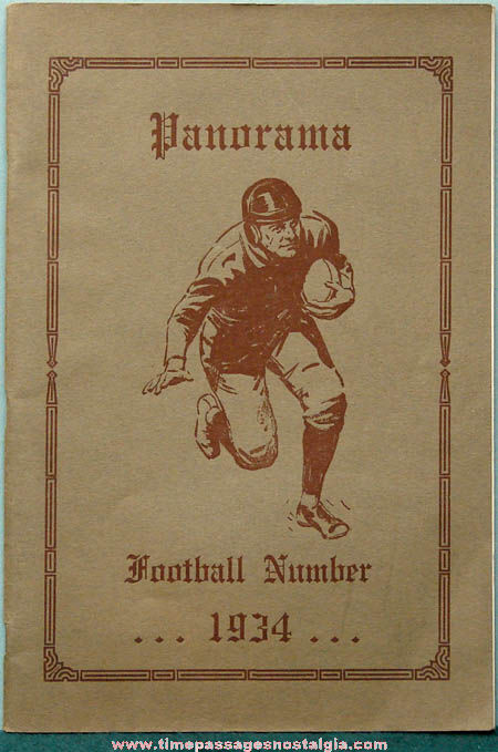 1934 Binghamton New York Central High School Panorama Book
