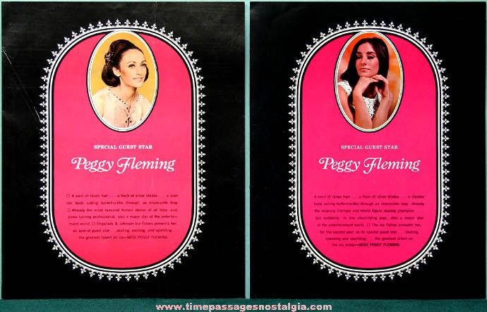 1970 & 1971 Ice Follies Advertising Souvenir Program Bookets