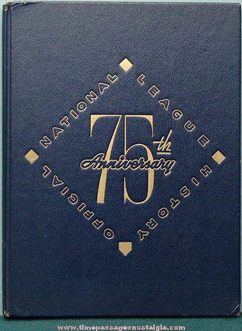 1951 National League Baseball 75th Anniversary History Book
