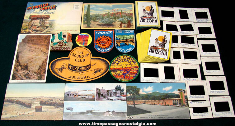 (34) State of Arizona Advertising & Souvenir Items