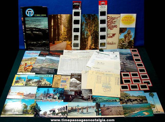 (77) State of California Advertising & Souvenir Items