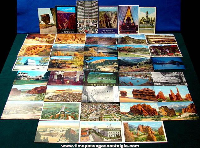 (39) State of Colorado Advertising & Souvenir Post Cards
