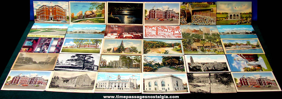 (30) State of Connecticut Advertising & Souvenir Post Cards