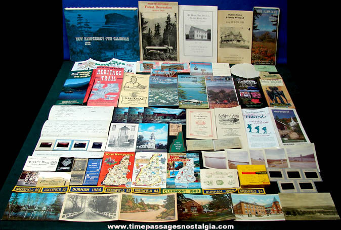 (73) State of New Hampshire Advertising & Souvenir Items