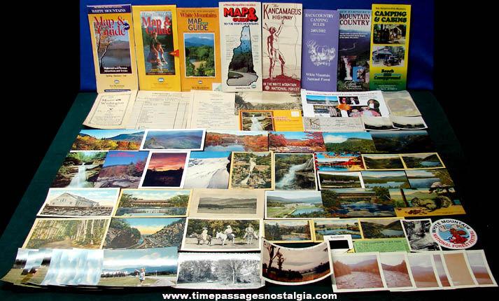 (70) New Hampshire White Mountains Advertising & Souvenir Items