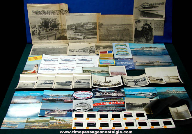 (64) New Hampshire m/s Mount Washington Steamship Advertising & Souvenir Items