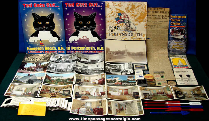 (43) Portsmouth New Hampshire Advertising & Souvenir Items