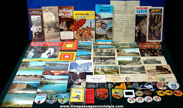 (65) State of New York Advertising & Souvenir Items