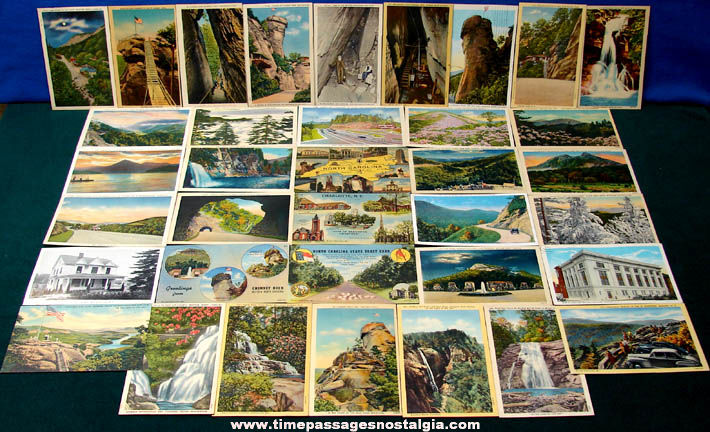 (36) Old State of North Carolina Advertising & Souvenir Post Cards