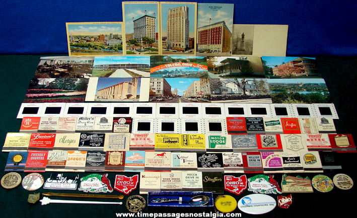 (97) Old State of Ohio Advertising & Souvenir Items
