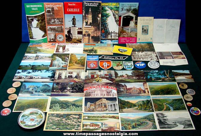 (59) State of Pennsylvania Advertising & Souvenir Items
