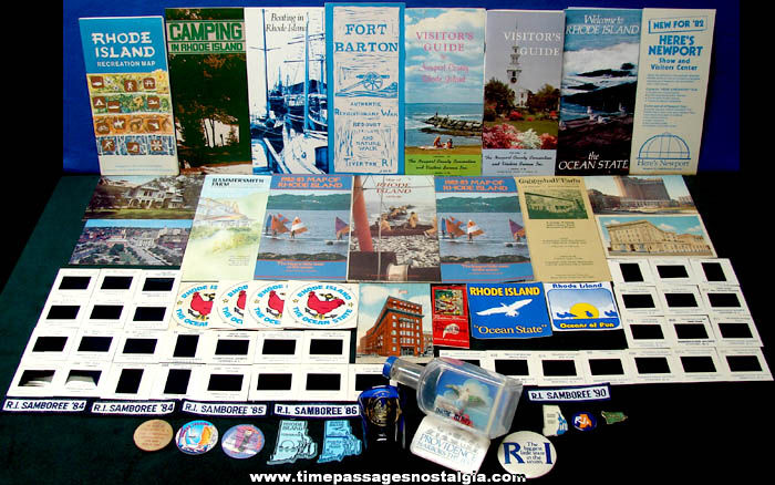 (79) State of Rhode Island Advertising & Souvenir Items
