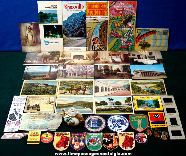 (45) State of Tennessee Advertising & Souvenir Items