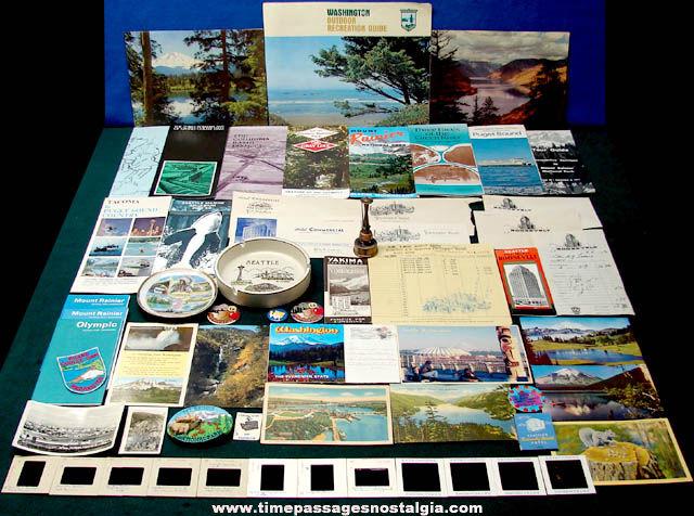 (60) State of Washington Advertising & Souvenir Items
