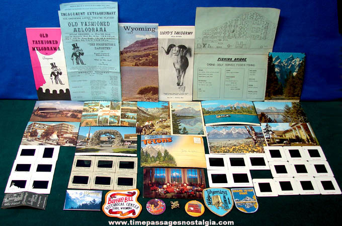(53) State of Wyoming Advertising & Souvenir Items