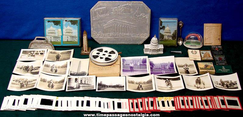 (88) Washington D.C. Advertising & Souvenir Items