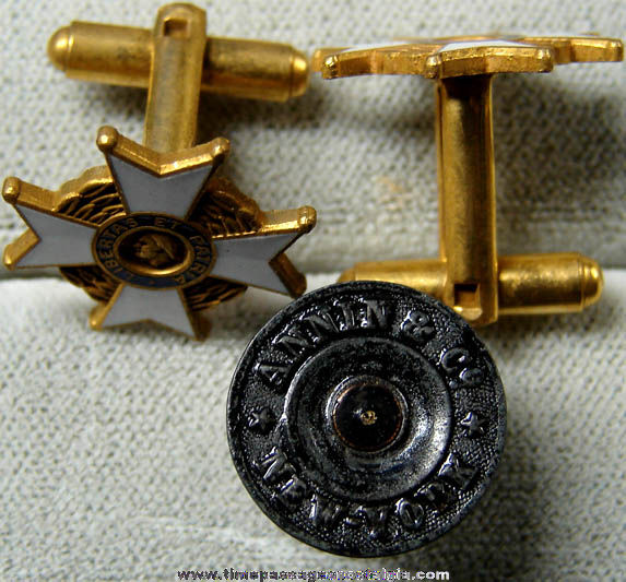 (3) Old Sons of American Revolution Jewelry Items