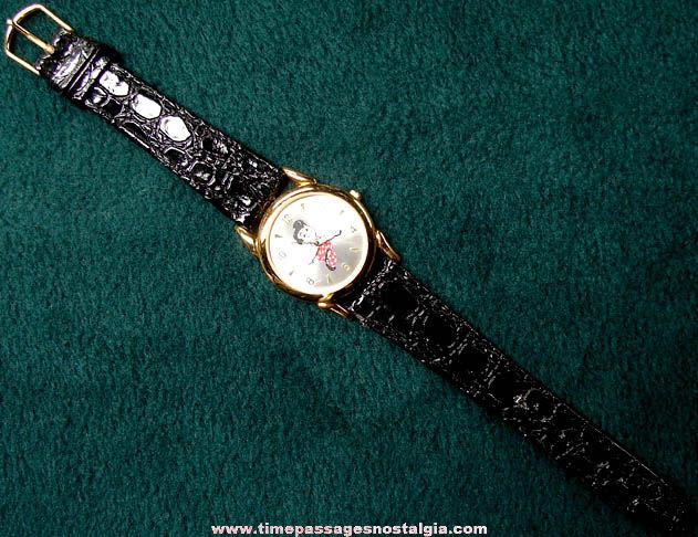 Unused Big Boy Restaurant Advertising Character Wrist Watch