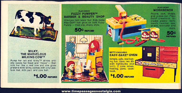 Colorful ©1977 Kenner Toys Advertising Refund Catalog Booklet