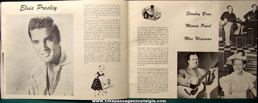 ©1957 Thurston Moore Hillbilly and Western Scrapbook 1958 Edition