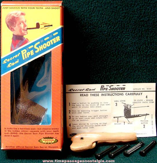 Sam Toys r us Topper Toys Secret Sam
