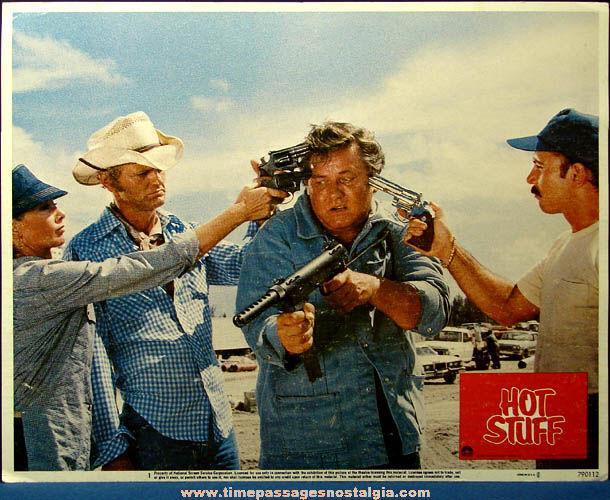 Colorful ©1979 Hot Stuff Movie Lobby Card Poster