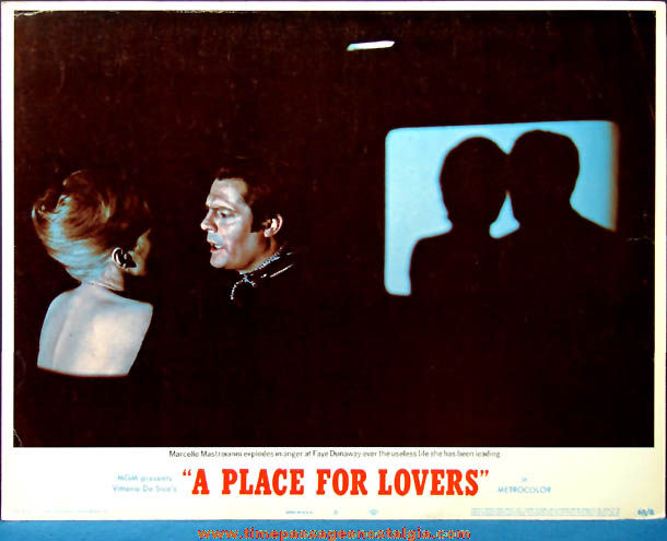Colorful ©1969 A Place For Lovers Movie Lobby Card Poster