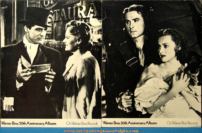 (2) Warner Brothers Records 50th Anniversary Actor & Actress Pictures