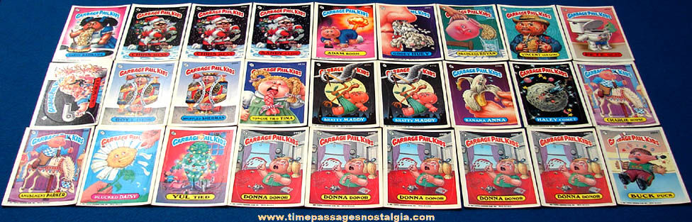 (27) ©1987 Topps Garbage Pail Kids Bubble Gum Trading Card Stickers