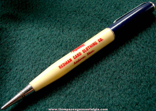 Old Redman Card Clothing Company Advertising Premium Ritepoint Mechanical Pencil