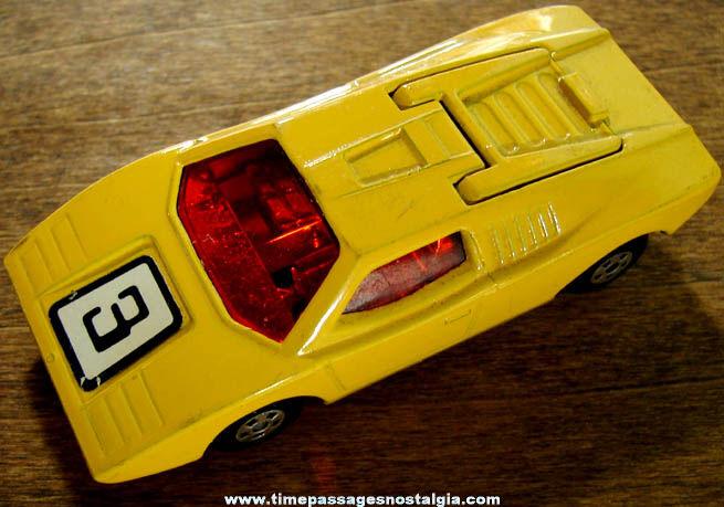 1973 Lesney Matchbox Lamborghini Countach Superfast Die Cast Toy Car
