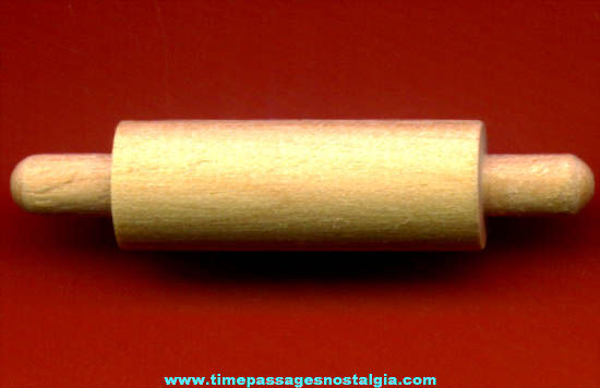 (40) Miniature Wooden Toy Rolling Pins