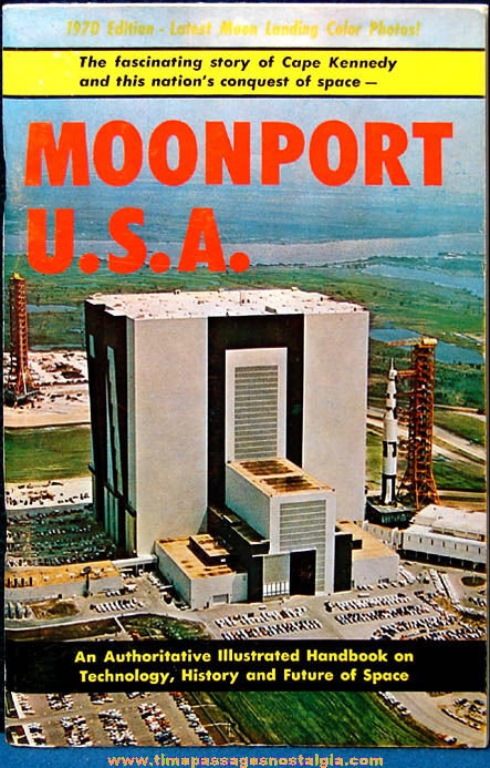 ©1970 Moonport U.S.A. Cape Kennedy Space Travel Book