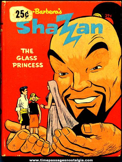 ©1968 Shazan The Glass Princess Whitman Big Little Book