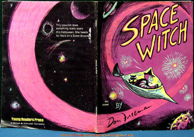 ©1959 Space Witch Childrens Soft Cover Book