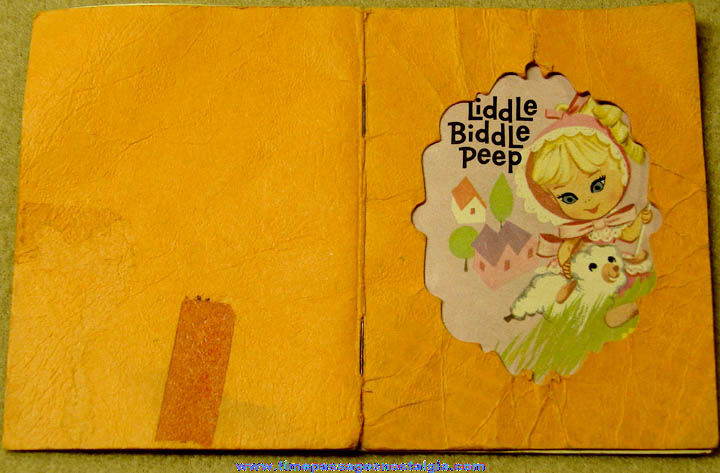 ©1966 Mattel Liddle Kiddles Doll Liddle Biddle Peep Story Booklet