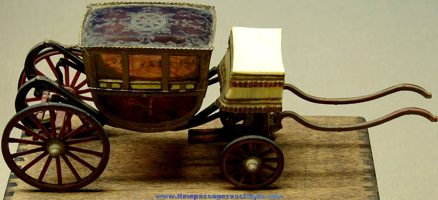 Old Built & Painted Horse Carriage Plastic Model Kit