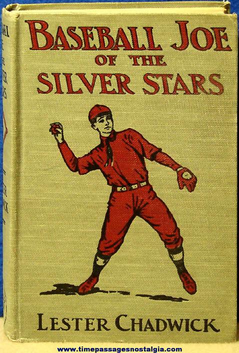 ©1912 Baseball Joe of The Silver Stars Hard Back Book