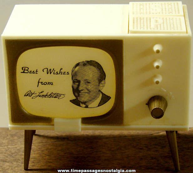 Old Unused Art Linkletter Television Salt & Pepper Shaker Set