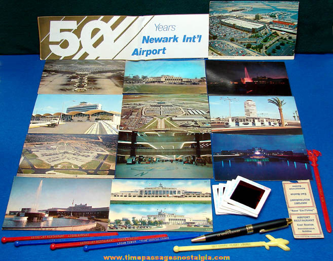 (26) Old United States Airport Advertising and Souvenir Items