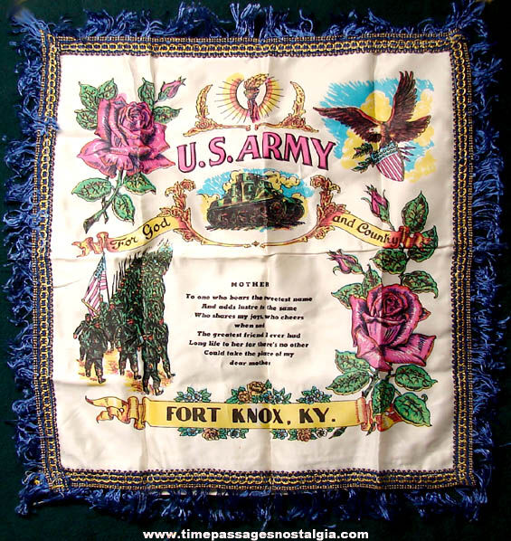 Old Unused Fort Knox Kentucky United States Army Soldier Mother Gift Pillow Cover