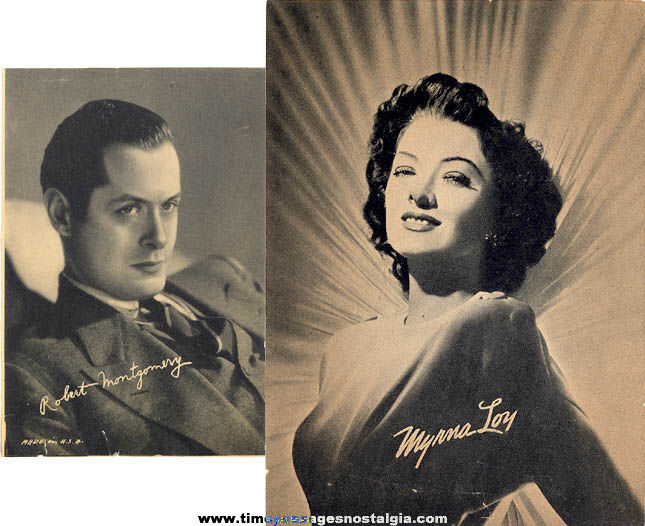(11) Different Old Black & White & Color Actor & Actress Picture Frame Pictures